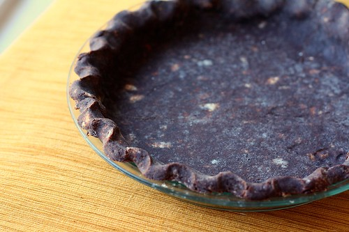 SMS Chocolate Pie Crust