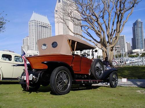 1922 Rolls Royce. 1922 Rolls Royce Skiff