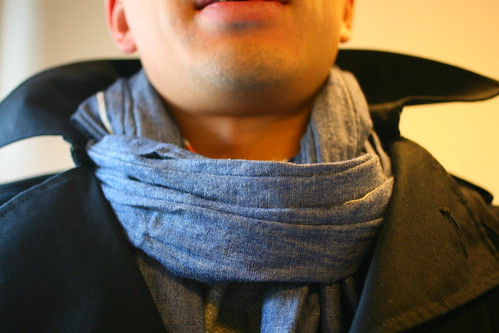 The Hill-Side Chambray Scarf