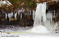 Sgwd Gwladys (Dan Santillo) Tags: winter fall ice water frozen waterfall falls waterfalls icicles