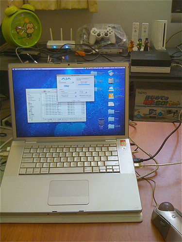 MBP Firewire 測試 - 1