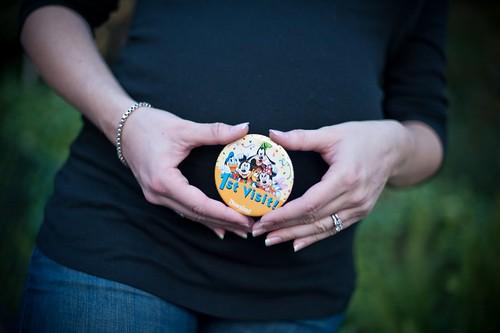 Baby's first Disneyland Visit