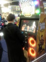 2009-12-13 Guitar Hero 3 Arcade (Ninjaw P.B.) Tags: paris guitarhero latetedanslesnuages