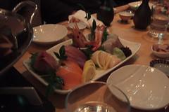 Sashimi at Nagomi