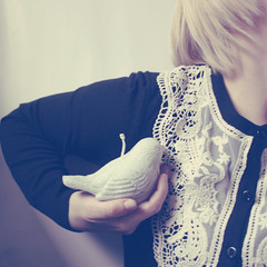 (_acido) Tags: life cold bird me vintage grey soft candle nirvana nail blond hate canoneos450d