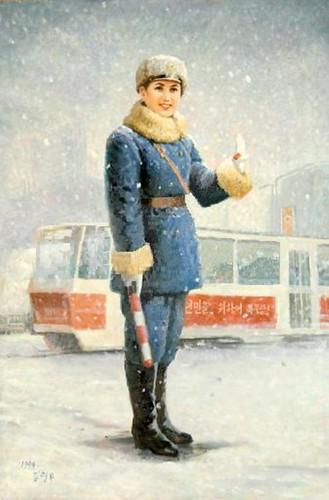 Traffic Policewomen Paintings - Art from North Korea 4280445531_794bcd1e9d