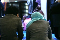 More than friends... (Bissane) Tags: family girls friends women muslim hijab mosque complicity