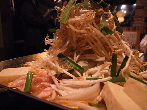 pyramid of bean sprouts