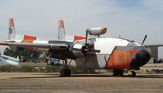 Fire Fighting Boxcar (Ken's Aviation) Tags: tucson pima fairchild airmuseum c119 airizona flyingboxcar 490132 n13743 hemetvalleyflyingservice