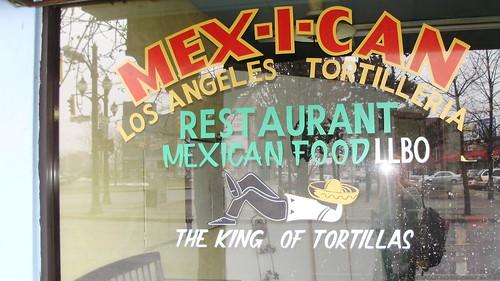 Mex-i-can Restaurant, Hamilton, Ontario