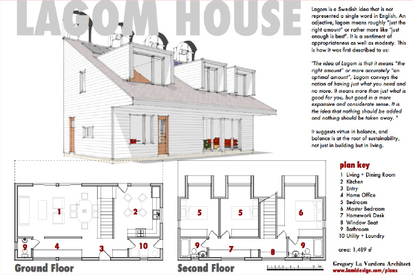 Active Solar House Plans modern house plansgregory la vardera architect: contest house