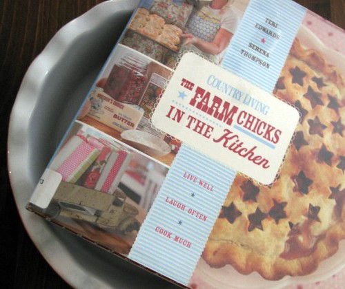 Farm Chicks Kitchen book in pie