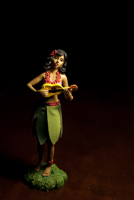 Day 101: Little Hula Girl