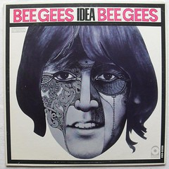 1968 THE BEE GEES Idea 1960s  vintage vinyl LP record album cover psychedelic (Christian Montone) Tags: vintage idea vinyl lp 1960s 1968 popmusic albumcovers beegees vintageillustration vintagegraphics vintagealbumcovers