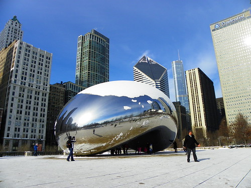 Chicago Cloud Gate - The Bean (4)