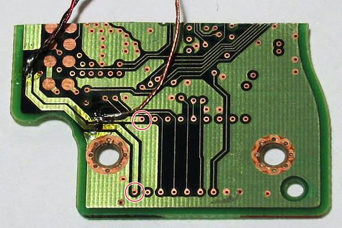 HDD Speaker: VCM lines on PCB