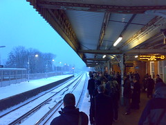 Earlswood Snow - No trains