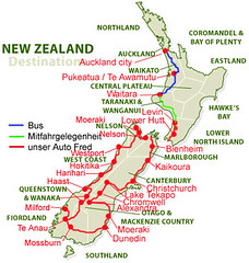 New Zealand unsere Route 2