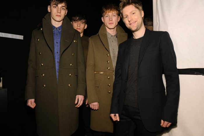 Backstage at Burberry AW2010 Menswear Show 02