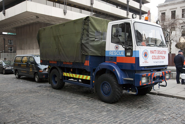 Dublin Civil Defence - Collecting For The Earthquake Victims In Haiti by infomatique