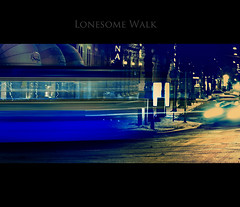 One Cold Night! (Faisal!) Tags: winter light car night gteborg walking moving long exposure flickr walk tram places move commute shutter nightshots lonsome