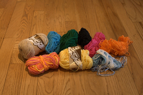 Yarn for future bibs
