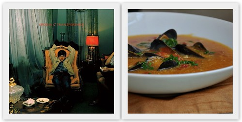 4303137500 7e13439f3a Musical Pairings: Spoon   Transference (paired w/ mussels & chorizo in polenta broth)