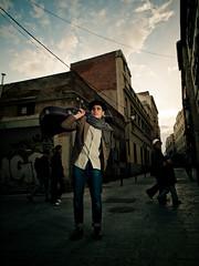 Nico - músico (Thomas Cristofoletti's stock photography) Tags: madrid musician olympus nico e30 strobes 1260 lavapiès olympuse30