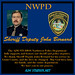 John Bernard Grant County Sheriff, Washington (AJM NWPD)