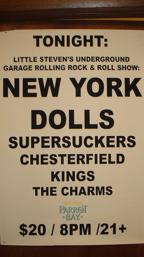 11/14/06 New York Dolls @ Minneapolis, MN (Concert Poster)