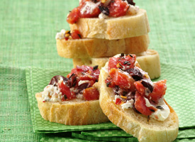 goat-cheese-bruschetta