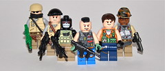 Urban Assault Team (The Ranger of Awesomeness) Tags: 2 modern lego warfare brickarms