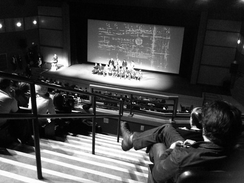 Q&A at the Eccles Theater, #sundance 2010