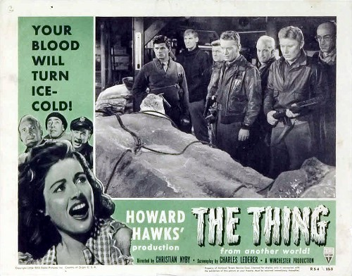 The Thing Lobby Card from 1951