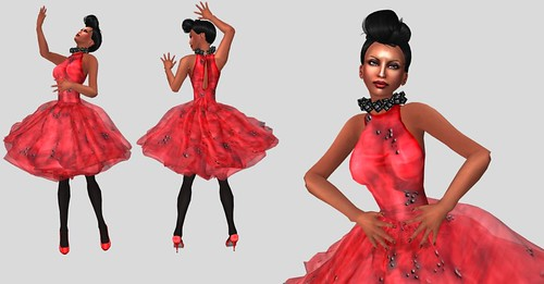 GIA Red Heart 100: CHANTKARE Agatha Dress