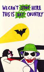 Fear and Loathing in Gotham City (Lee Crutchley | Quoteskine) Tags: art moleskine movie typography book design lyrics lasvegas sketchbook quotes batman type joker hunterthompson pens songs handdrawn twoface fearandloathing felttip gothamcity quoteskine