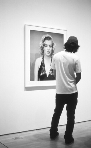 At the Avedon Exhibit