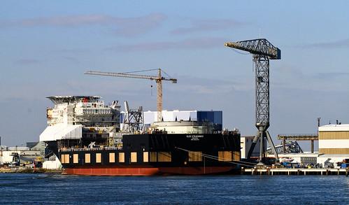 Oleg Strashnov - IMO9452701 - Seaway Heavy Lifting