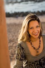 Freelove (Zakaria Salhi) Tags: portrait orange sun beach colors girl beauty smile lady eyes sand nikon morocco maroc mm nikkor 50 marruecos marokko reflector d300 zakaria strobist salhi