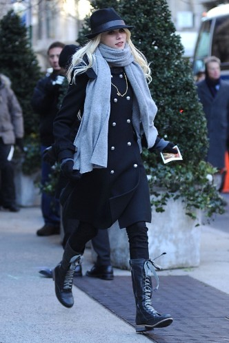 Taylor Momsen fra Gossip Girl, Costume