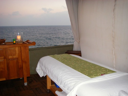 Ocean Hale Massage at Sunset