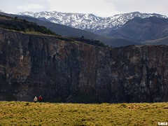"""""""Do you have more ideas?"""" - Patagnia - Argentina (TLMELO) Tags: people patagonia argentina clouds trekking rocks hiking fitzroy hike climbing backpacking backpack justdoit montanha montain pedras montanhas caminho morena montains trilha cerrotorre impossibleisnothing keepwalking elchaltn"""