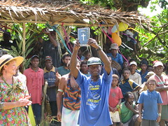 The precious Word of God to the Lote people (kahunapulej) Tags: new trees dedication island britain nt east jungle bible png papuanewguinea province launching testament lote uvol niugini kahunapulej kahunapule