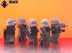 KILLZONE 2 : Advanced Assault Infantry (ORRANGE.) Tags: 2 by amazing lego made hazel elite fox guns custom armory orrange helghast killzone warzone sturmgewehr helghan sta52