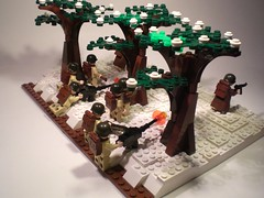 Band of Brothers: The Breaking Point (PhiMa') Tags: lego wwii ww2 worldwar2 battleofthebulge bastogne bandofbrothers brickarms mmcb