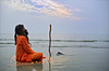 MEDITATION (Apratim Saha) Tags: blue portrait people cloud sun india man color festival sunrise river painting landscape nikon pov indian oldman nikond70s oldwoman priest dailylife kolkata puja 1870mm pilgrim ganga sadhu nationalgeographic ganges mela pandit westbengal 1870 saha northindia siliguri bestphoto gangasagar mywinners apratim lifeinindia earthasia gangasagarmela lifeculture apratimsaha