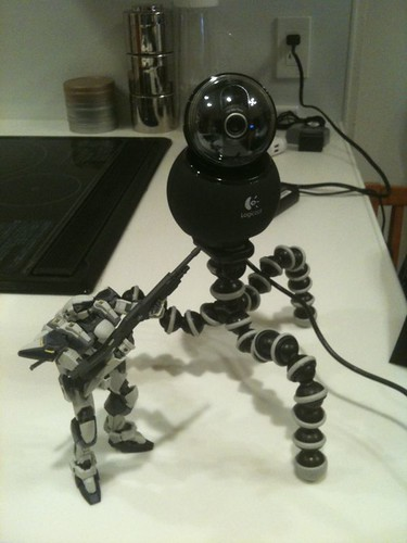 Webcam Mecha Prototype