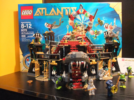 8078 LEGO Portal of Atlantis (2010)