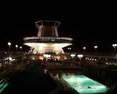 Monarch of the Seas at Night