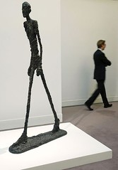 Giacometti Walking Man statue